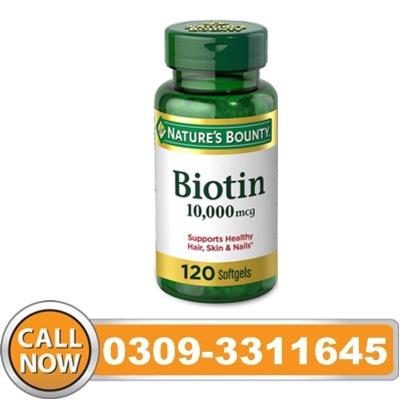 Biotin Pills in Pakistan