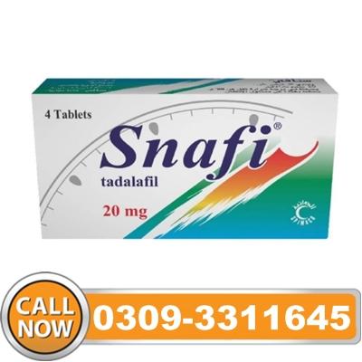 Snafi Tablets in Pakistan