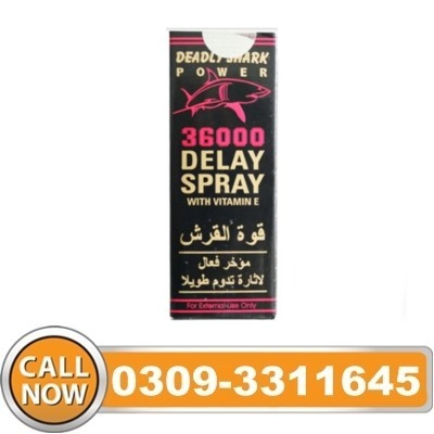 Deadly Shark 36000 Delay Spray in Pakistan